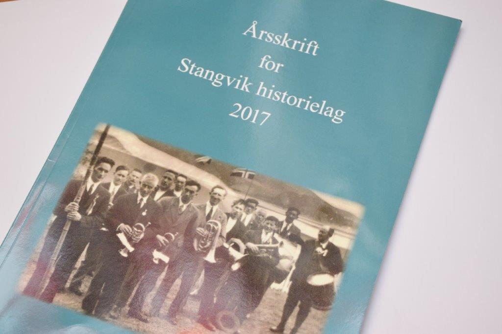 Stangvik historielag er no klar med årsskriftet for 2017. Foto: Jon Olav Ørsal