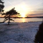 Førjulsbilde  fra  Sandefjord