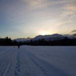 Vinterlandskap  mot  vakre  Todslsfjell!