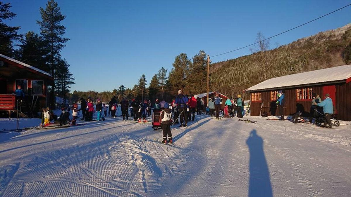 Sonerenn på Vang skistadion  Foto: IL Søya