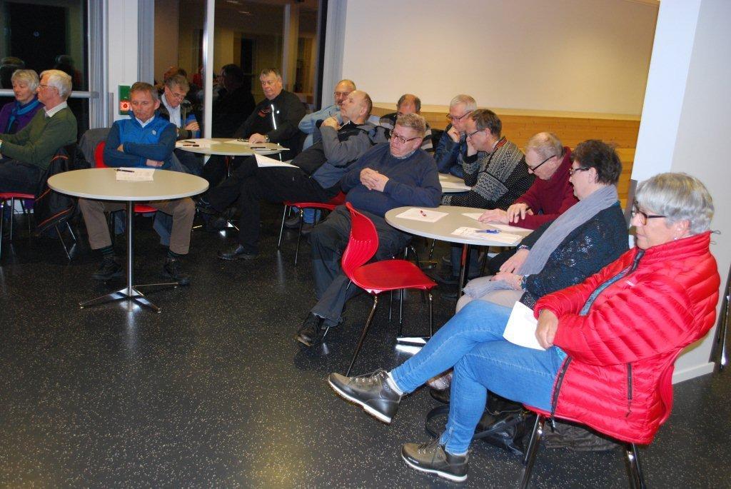 Bra frammøte på årsmøtet til Stangvik historielag.  Foto: Sverre Kjølstad