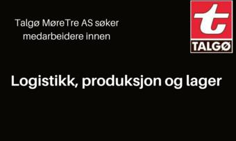 Ledige stillingar hos Talgø MøreTre AS