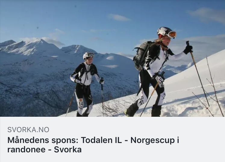 Skjermdump frå Svorka si Facebookside.