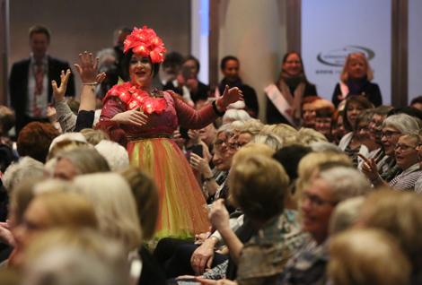 Fra Kvinnehelsedagen i 2017, der Christine Koht var konferansier.