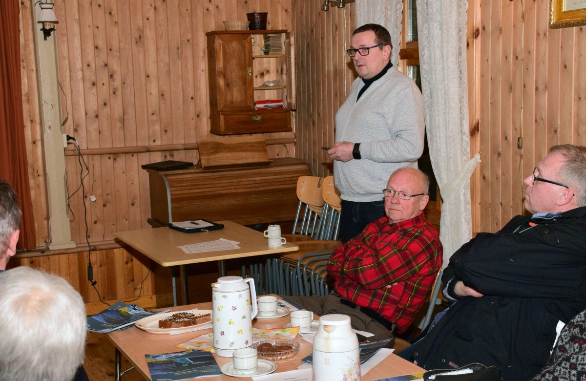 Når Todalsfjordprosjektet er realisert er Kvernberget og Vestbase ein time unna Nordvik, sa Bergsvein Brøske.  Foto: Jon Olav Ørsal
