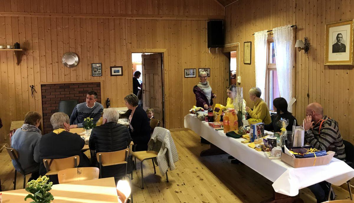 Påskebasar på Nordvik. Foto: Dordi J H