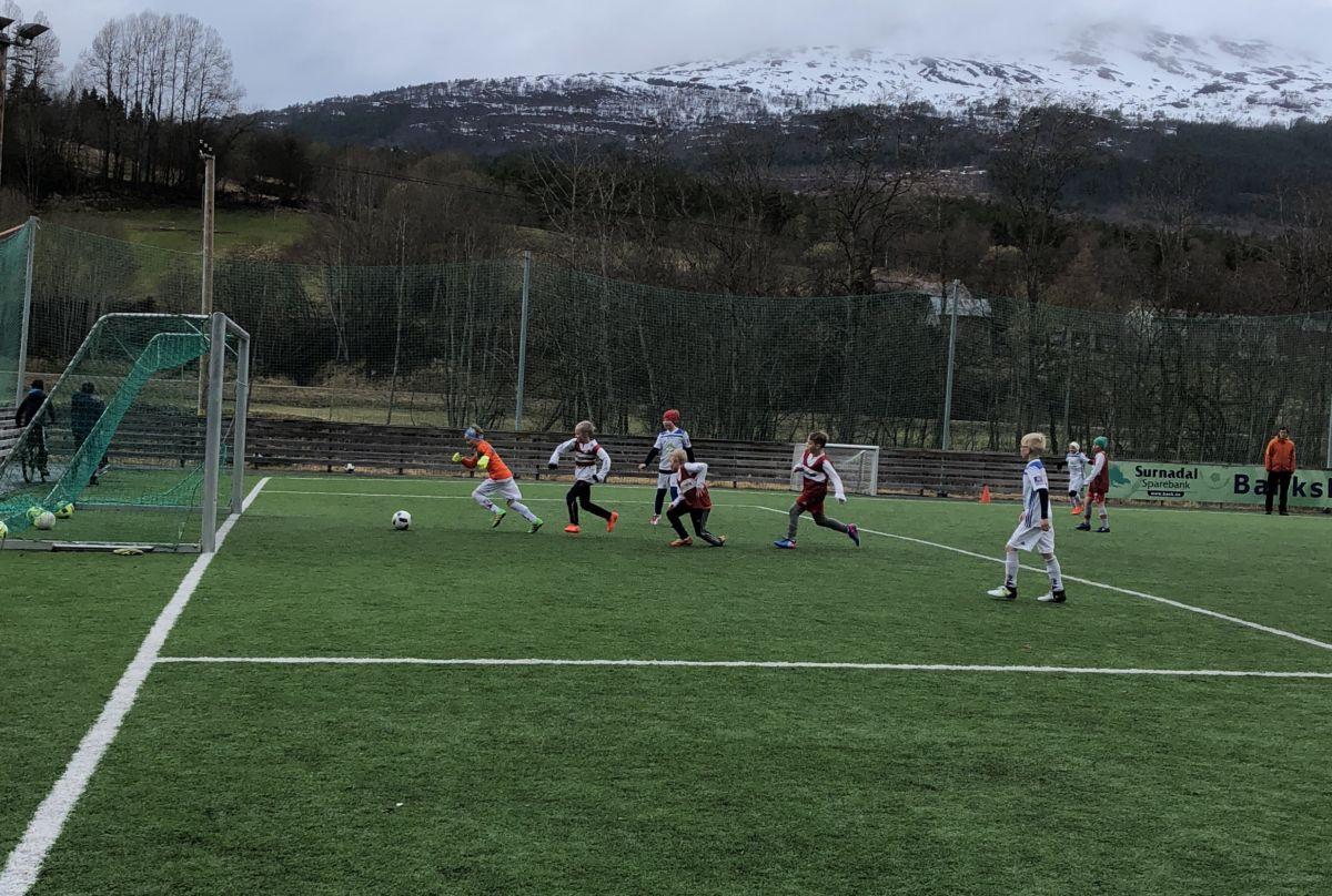 Nok ein fotballkamp på Bordholmen