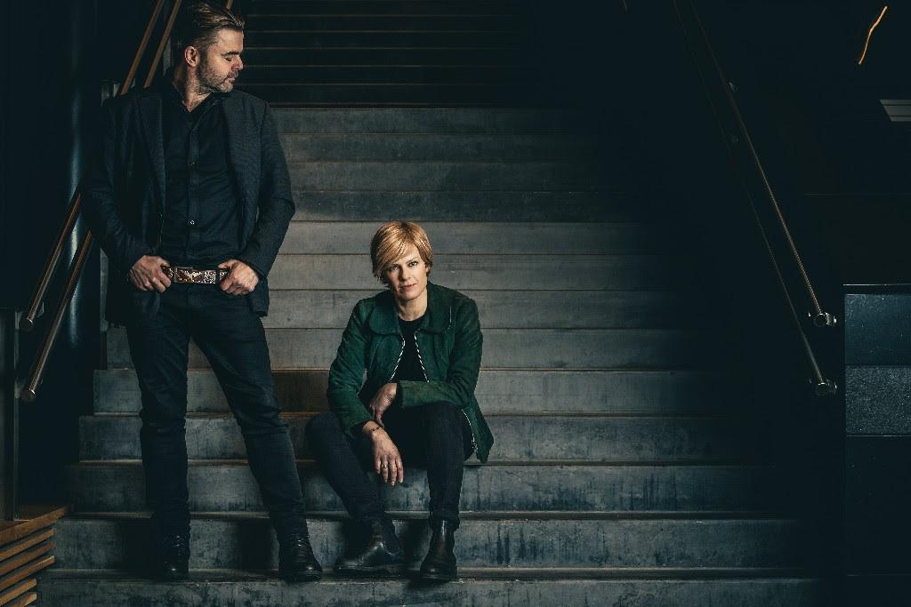 Trudy & Dave er artistnamnet til Johanna Demker og Alf Bretteville-Jensen.  Foto: Jon Strøm