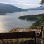 Utsikt  fra  Svinvikrunden