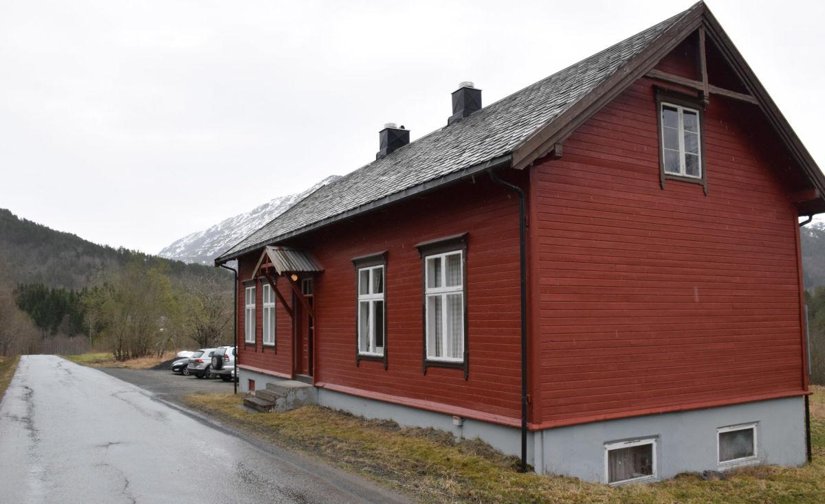 Krigsminnesamlinga på Åsen.  Arkivfoto Jon Olav Ørsal
