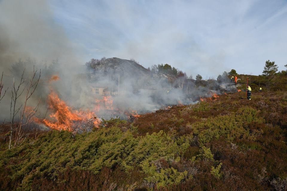 Det er no totalforbud mot open eld i heile Møre og Romsdal.  Illustrasjonsfoto: SK