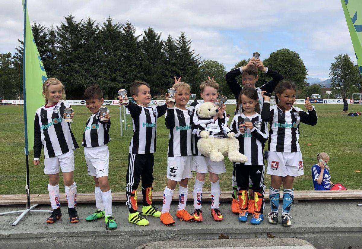 I  aksjon  på  SILregn  Cup