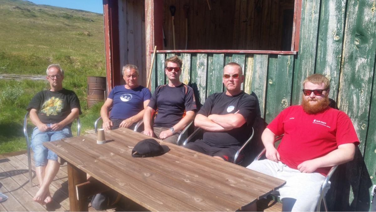 Vaffeldag  på  Skihytta