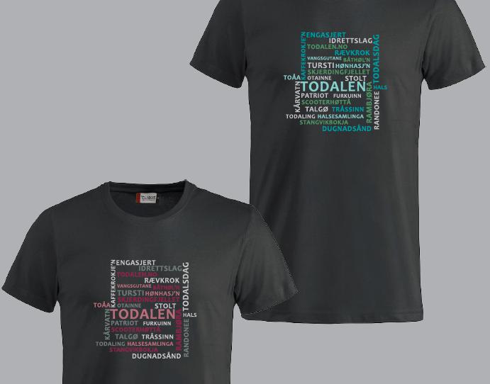 Eiga  t-skjorte  blir  lansert  på  Todalsdagen