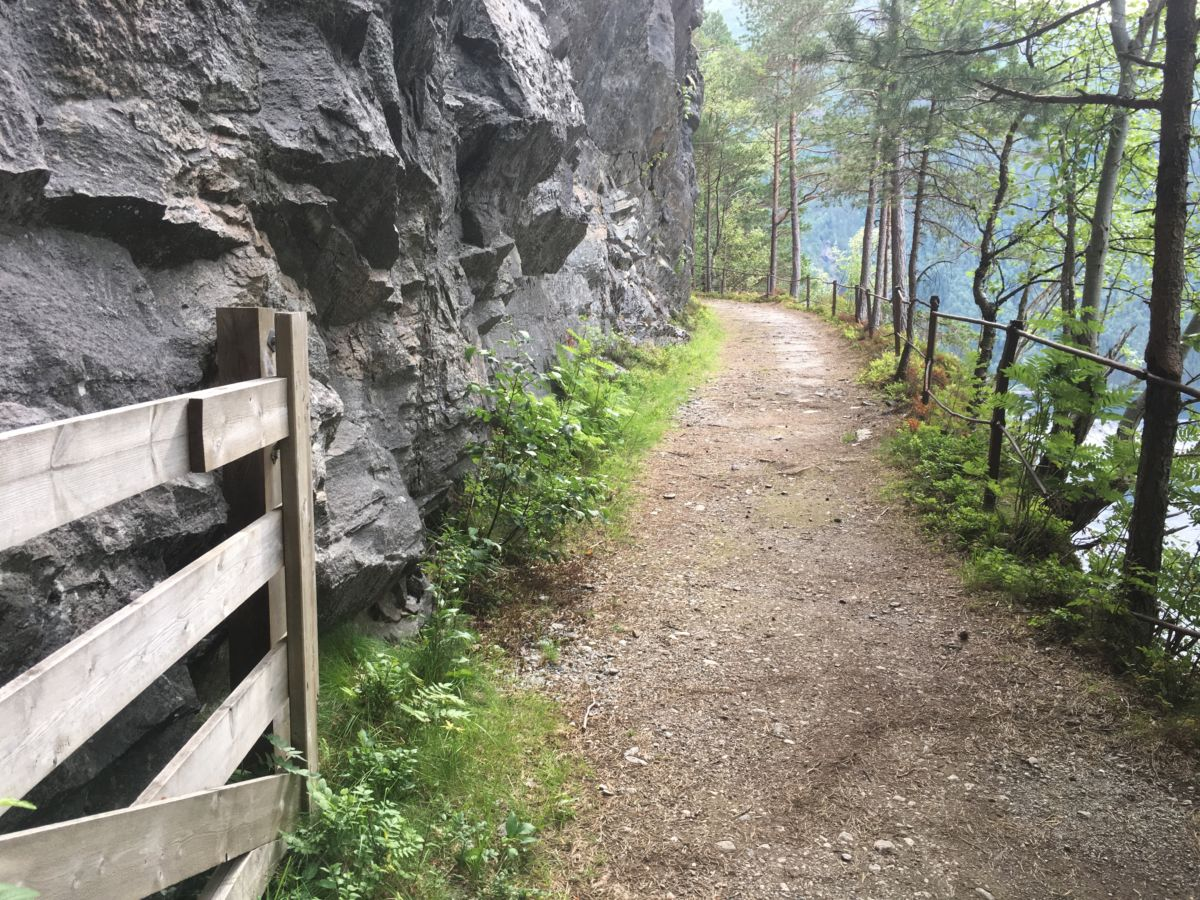 Svinvikrunden kan kanskje bli Norges beste turtips - men da må du gi di stemme!  Foto. Jon Olav Ørsal