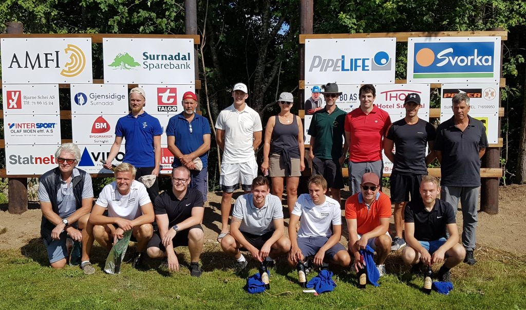 Snorre Larsens minneturnering på Surnadal golfpark