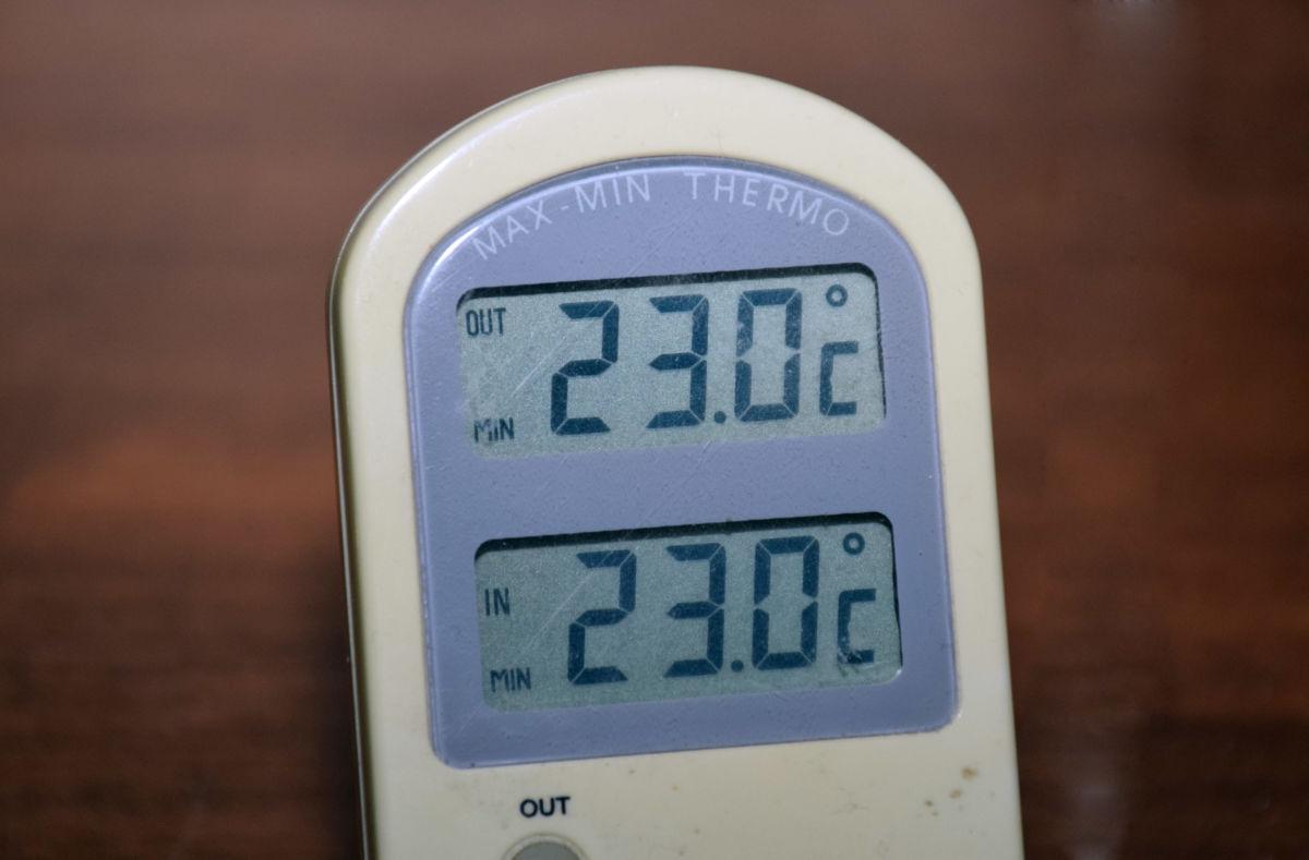 Høgst uoffisiell måling, men minimumstemperaturen på heimebane var 23 grader natt til søndag.  Illustrasjonsfoto: Jon Olav Ørsal