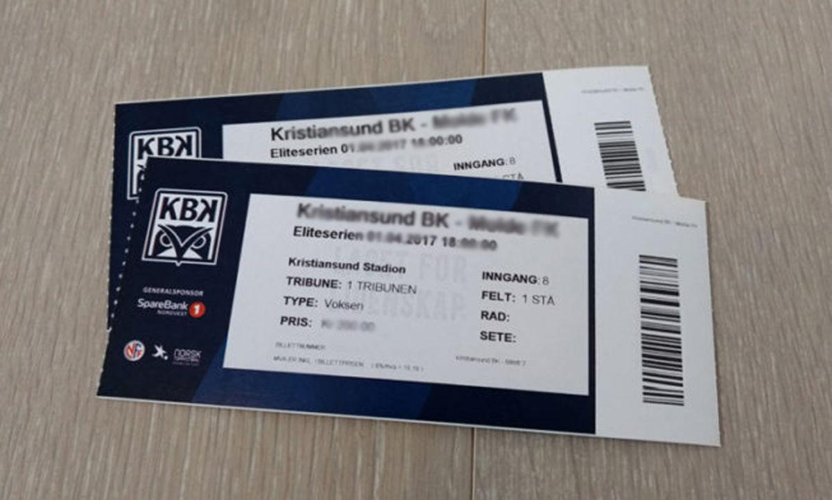 Illustrasjonsfoto KBK-billetter