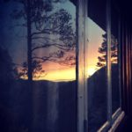 Kveld  i  speilet