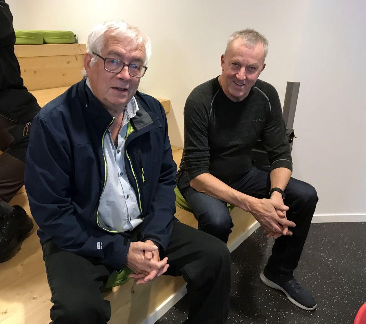 Gunnvald Bøe og Einar Grønnes. Foto: Dordi J H