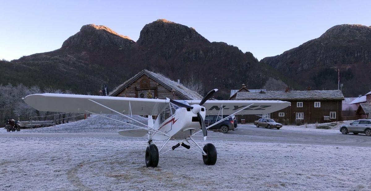 Kom med fly på julehandel! Foto: Dordi J H