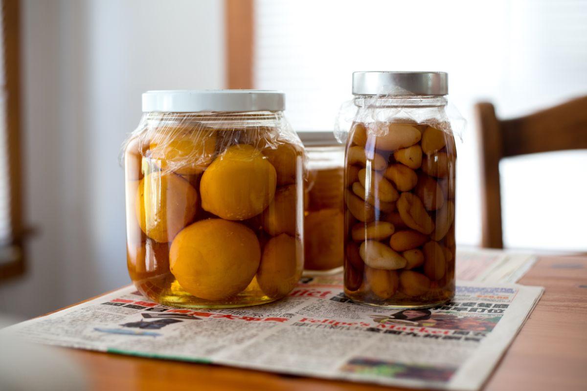 Har  du  hermetisk  frukt  og  grønt  av  overgod  årgang?