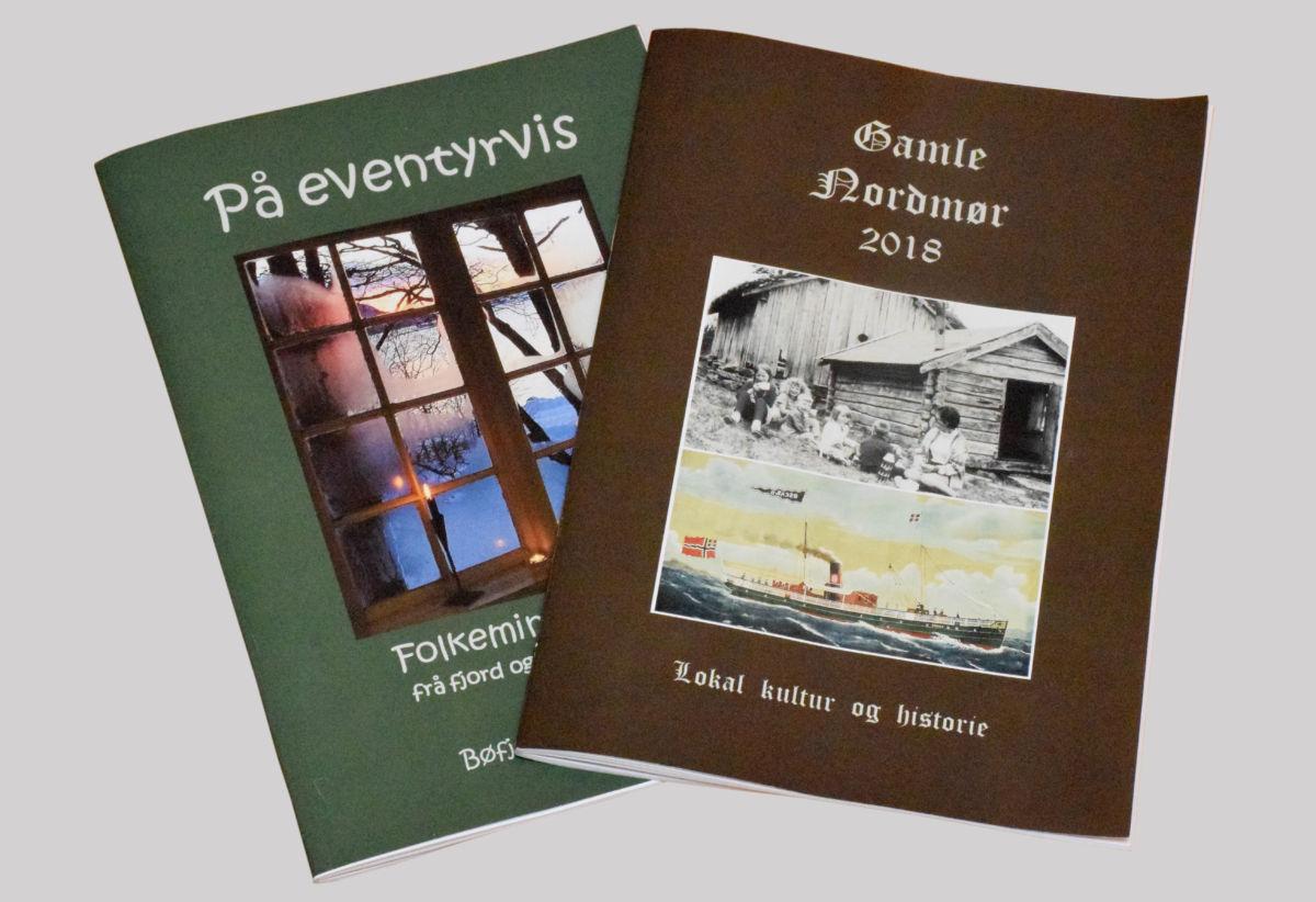 To nye skrifter frå Bernt Bøe og Bøfjord Historielag.