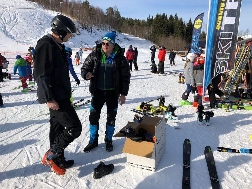 Randoneetilbudet ved Tingvoll videregående skole er unikt i Norge, og med base hos oss og kort veg til Romsdal med de beste randoneeutøverne i landet, har linja alle muligheter for å lykkes, mener Gudmund Kårvatn. Foto fra Driva.no