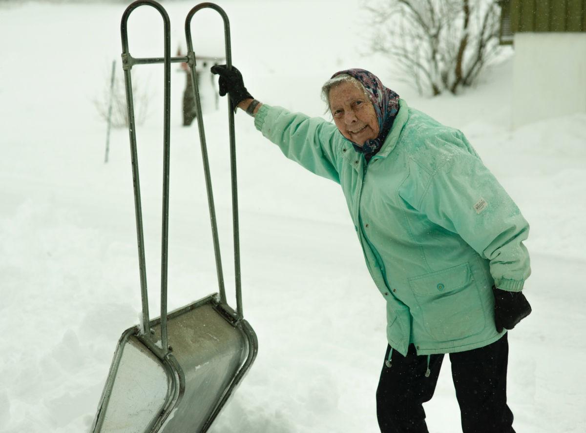 Kitty-dagens snømåker ble månadens bilete.