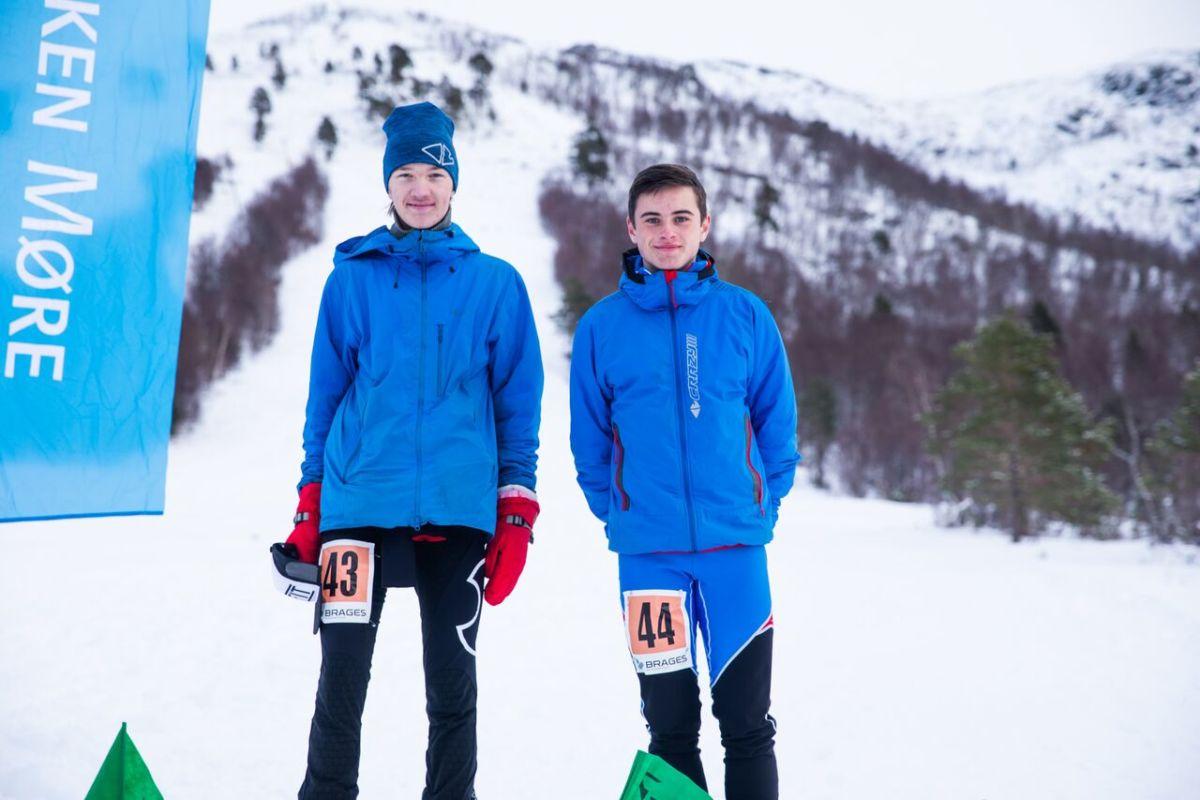 Erik og Edvard Foto: Håkon Lundkvist.