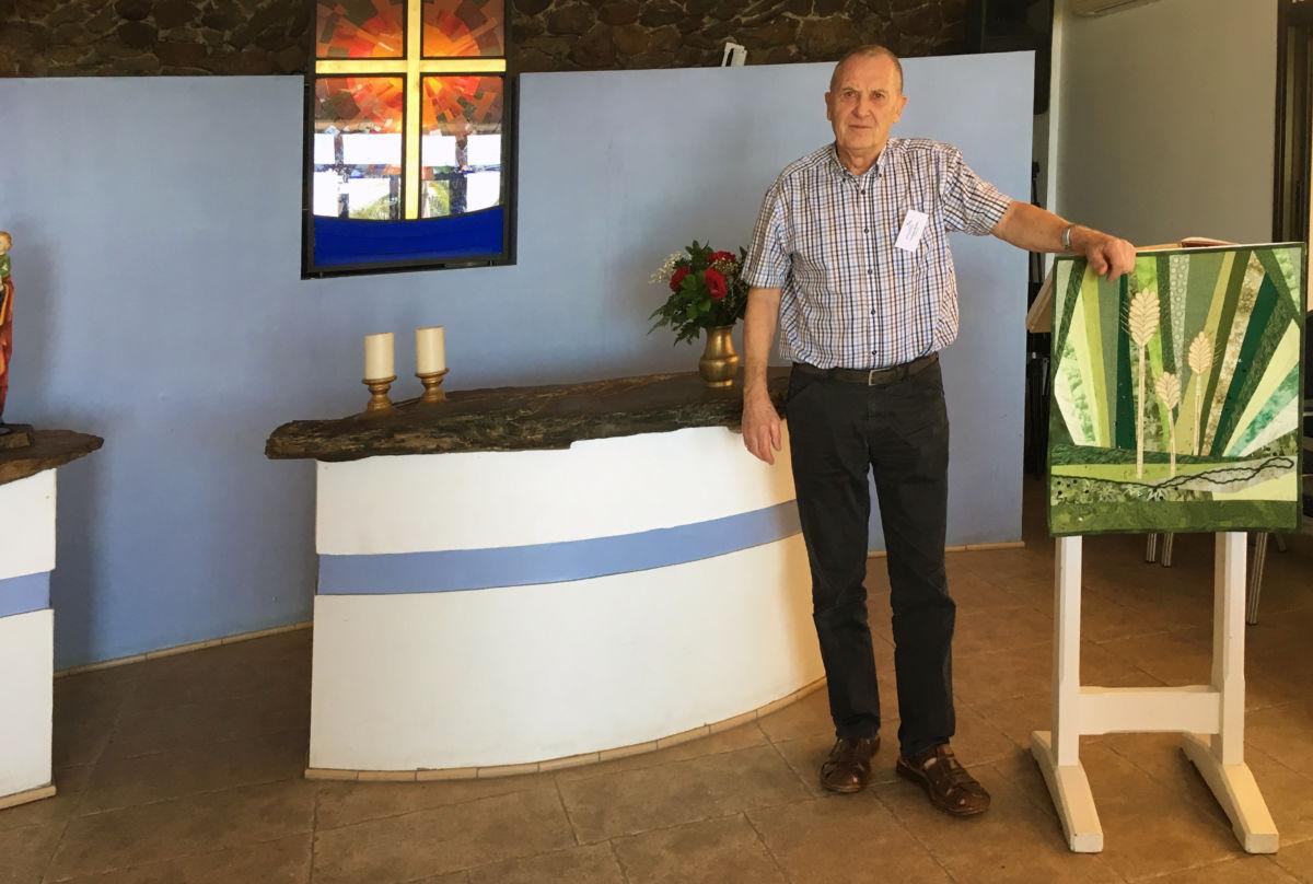 Torbjørn Brøske har gjort teneste for Sjømannskirken i 14 år og er for veteran å rekne - no er han vikar i Arguineguin på Grand Canaria.  Foto: Jon Olav Ørsal