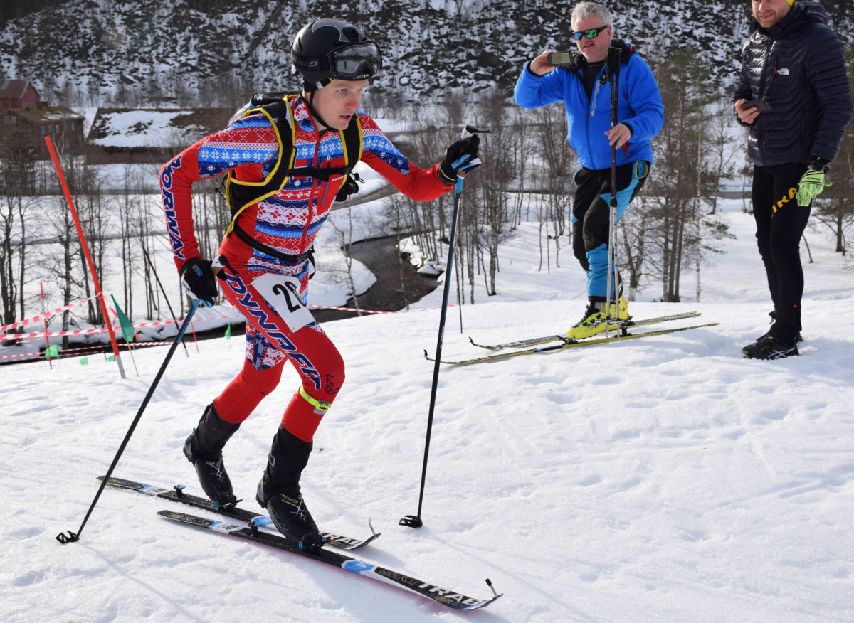 Det var ingen som matchet tiden til Hans Inge Klette, som fikk bestetid både på prolog og finale.   Foto: Driva/Jon Olav Ørsal