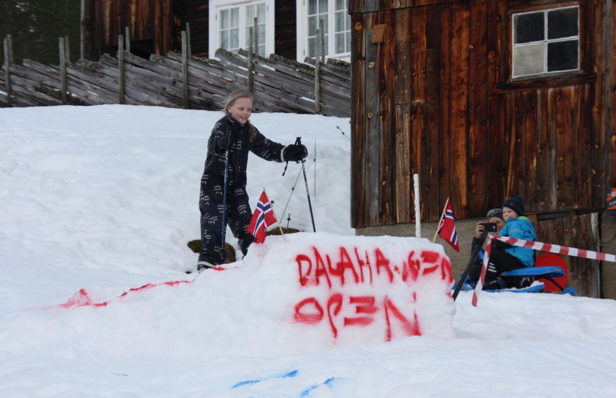 Yrande  liv  på  Dalahaugen  Open