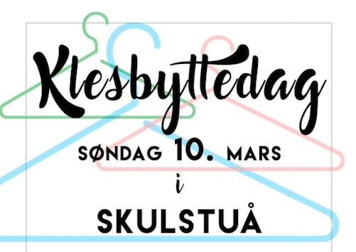 Klesbyttedag  i  Skulstuå