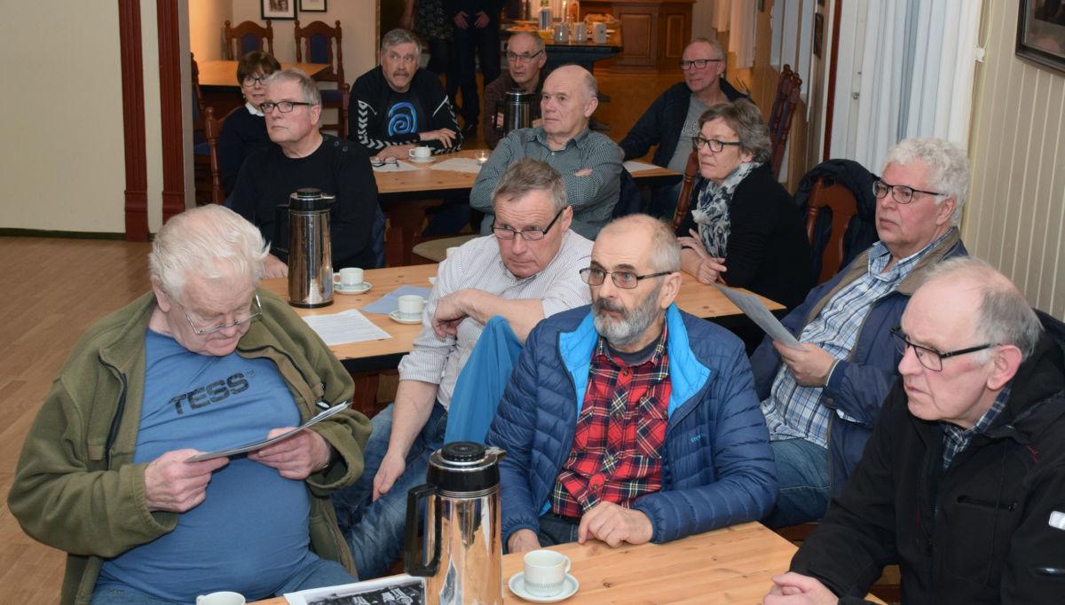 Det er stor interesse for det historiske arbeidet i bygda.  Foto: Jon Olav Ørsal