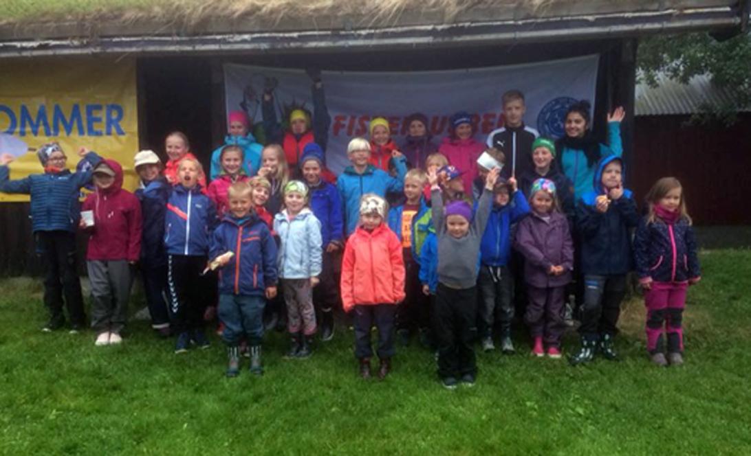 SJFF har fått 115 barne- og ungdomsmedlemar. Her er bilde frå ein av aktivitetane.  Foto Ove Magne Åsen