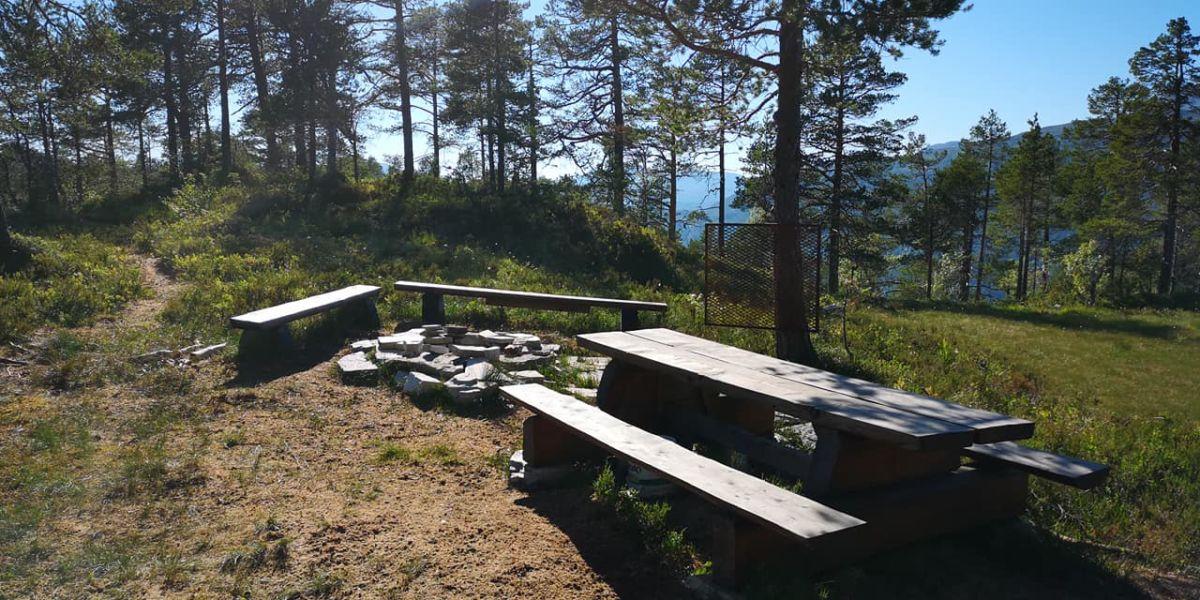 Ein av dei nye turmåla er Svartvatnet i Bæverfjord.  Foto: Anne Grete Bæverfjord