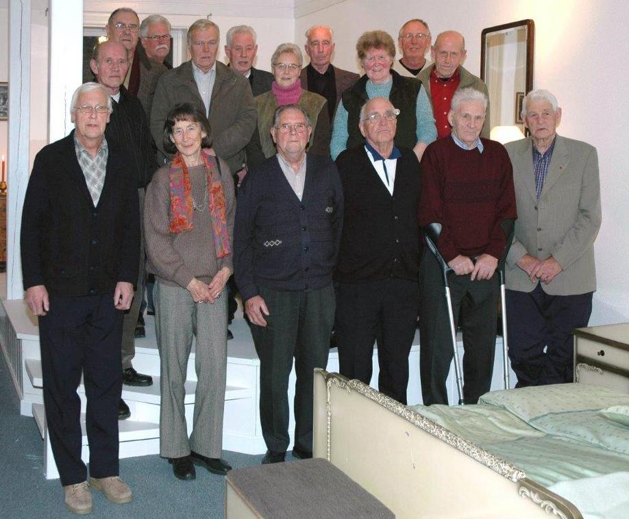 Film frå pensjonisttreff i 2006 er ein av filmane Saksen byr på komande søndag.  Arkivfoto frå 2006: Jon Olav Ørsal