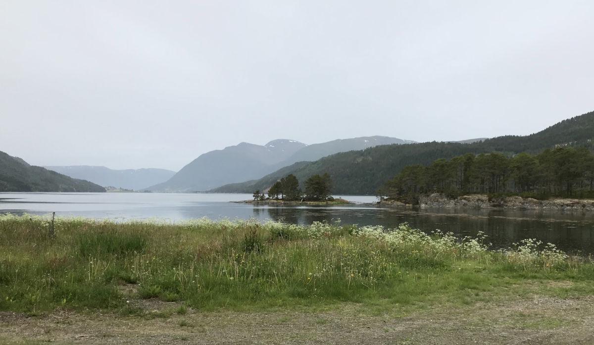 Åsskardfjorden - arkivbilde.