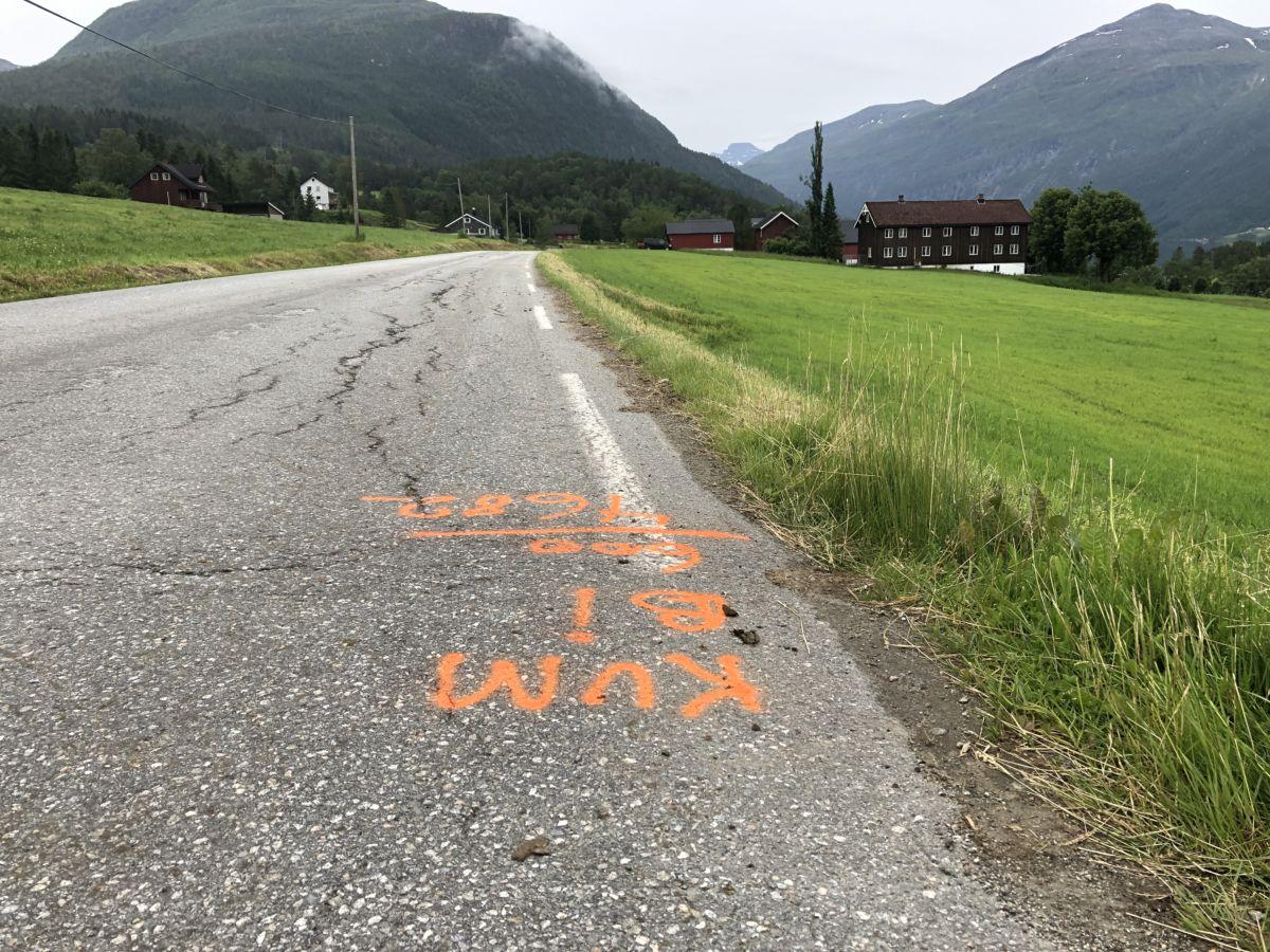 Snart asfalt, men først utskifting av stikkrenner