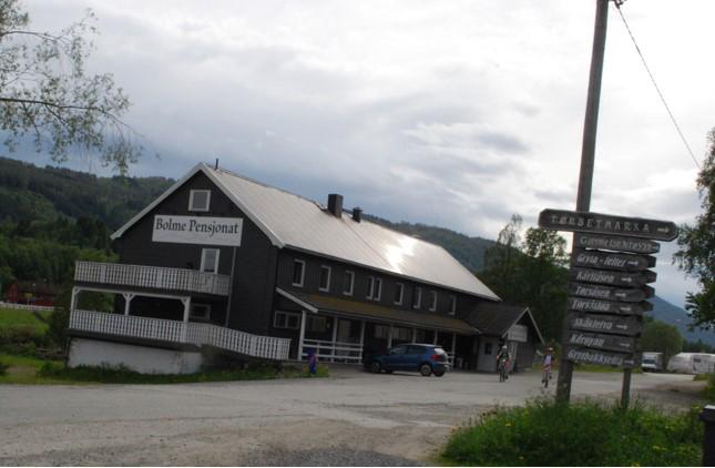 Stavgang  ved  Bolme  i  Rindal.