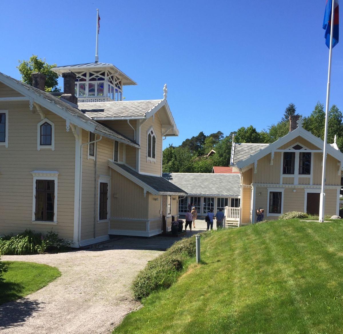 Historielagstur  til  Torjulvågen  og  Frei.