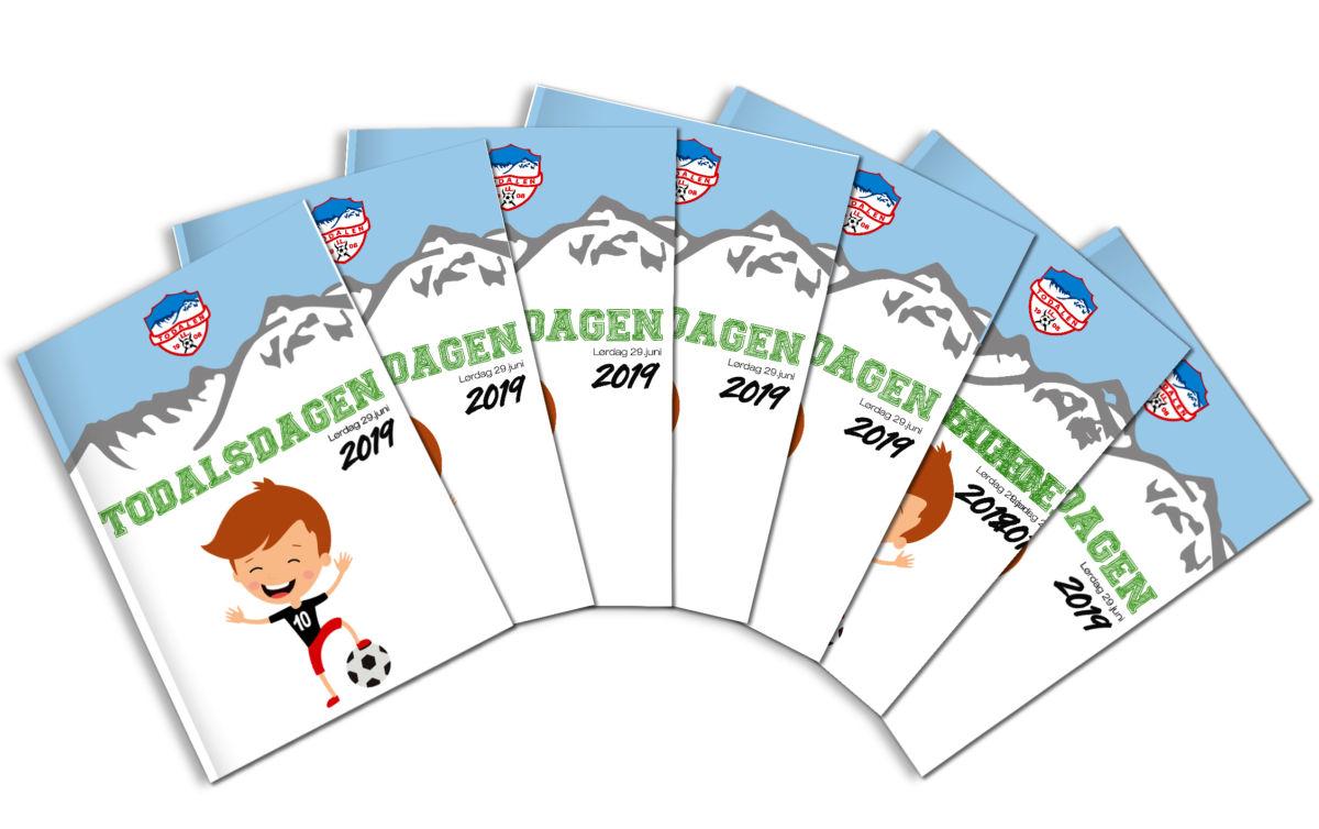 Programhefte med 20 sider informasjon og annonser.