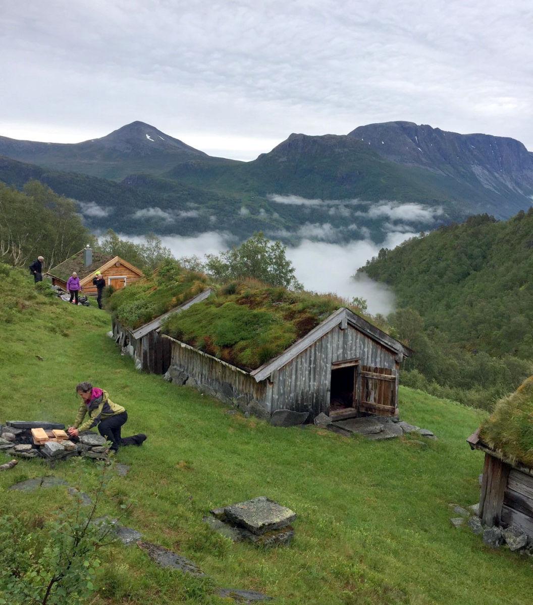 Utsikt mot Vassnebbå. Foto: Marit H
