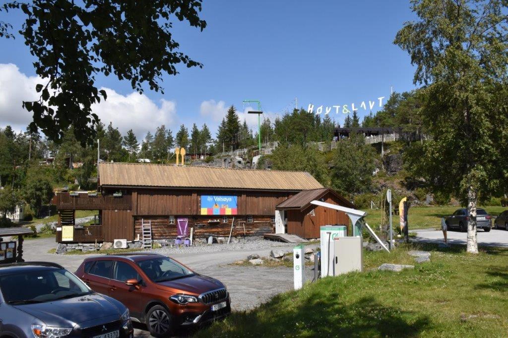 På Valsøya kan du besøke Klatreparken Høy & Lavt. Foto: Jon Olav Ørsal