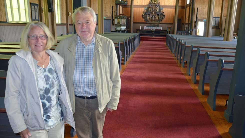 Einy og Svein inviterer til gratis sommerkonsert i Stangvik kyrkje.  Foto: Driva/Geir Forbregd