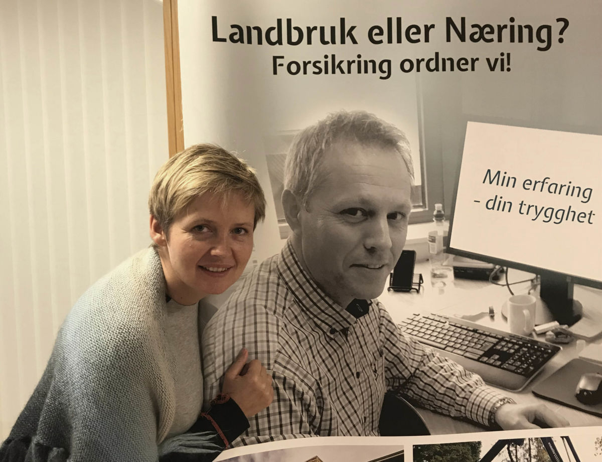 Anne Polden er arrangementsansvarleg i banken og har no programmet klart!  Foto: SSB