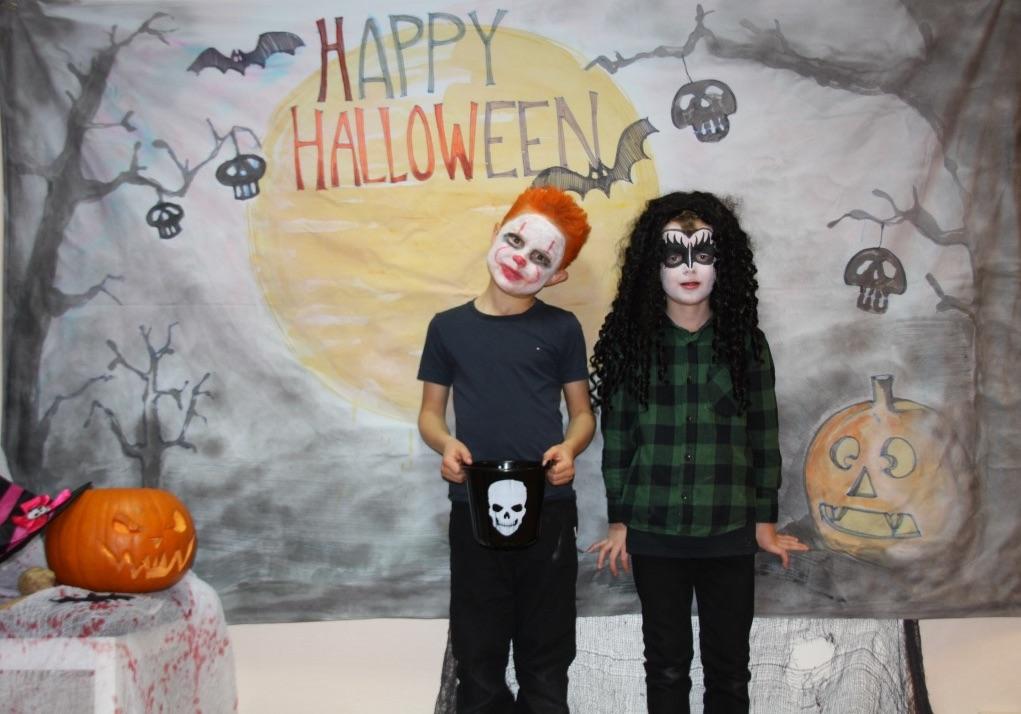 Fin  felles  Halloween  markering