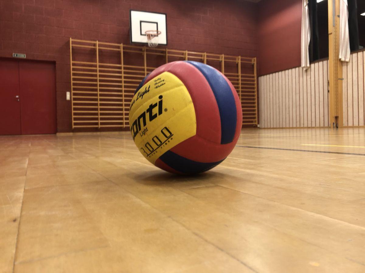 Volleyballen  fortsett