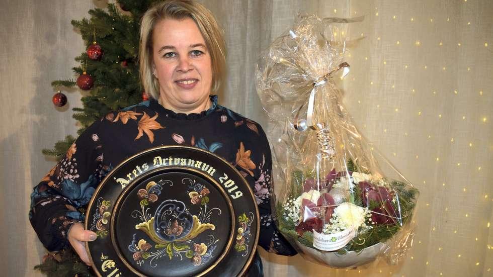 - Kjempestas å bli lagt merke til, seier Elinor Bolme i intervjuet med Driva.  Foto: Driva.no
